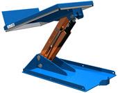 Подъемный стол с наклоняемой платформой