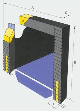 Подушечный герметизатор проемов TP 1001 и TP 1003 с усиленными накладками
