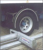 Блокировка грузовика